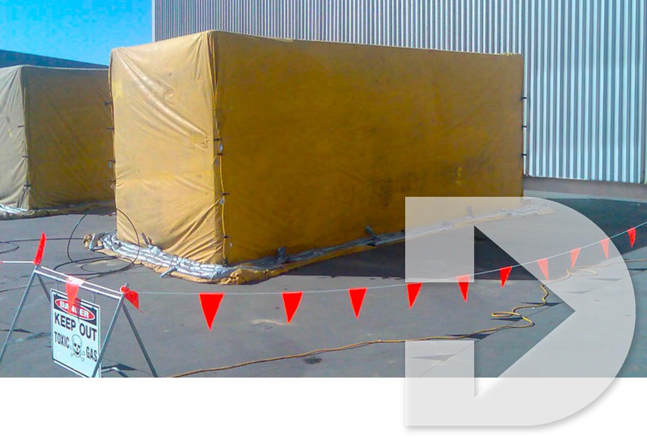 container fumigation services melbourne